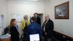Vilniaus Gedimino technikos universiteto darbuotojų vizitas įstaigoje