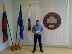Naujai priimtas pareigūnas prisiekė Lietuvos valstybei