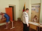Nuteistieji dalyvavo pakartotiniuose rinkimuose