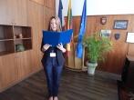 Vilniaus pataisos namuose – naujai paskirtos pataisos pareigūnės priesaika