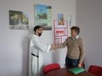 Lukiškių tardymo izoliatoriaus-kalėjimo administracijos atsisveikinimas su kunigu, vienuoliu dominikonu Marc-Antoine Bēchétoille