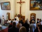 Šv. Pranciškaus Asyžiečio parapijos savanorių apsilankymas įstaigoje