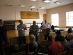 Misionieriaus Allan Jones apsilankymas Vilniaus pataisos namuose