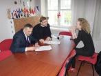 Pasirašyta nuteistųjų resocializacijos bendradarbiavimo sutartis  su Vilniaus arkivyskupijos Caritu