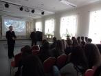 Pataisos pareigūno profesijos viešinimas  Vilniaus Šolomo Aleichemo ORT gimnazijoje