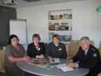 Susitikimas su Utenos teritorinės darbo biržos Anykščių skyriaus atstovais