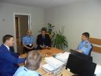 Susitikimas su Raseinių rajono tarybos nariu Andriumi Baudroniu.
