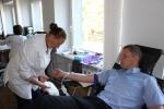 Probacijos pareigūnai dovanoja kraują