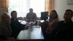 Susitikimas su Kupiškio rajono savivaldybės  administracijos  Šimonių seniūnijos seniūnu