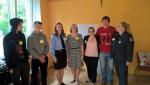 """Probacijos skyriaus priežiūroje esantys jaunuoliai dalyvauja projekte """"Mes - Kupiškio policijos jaunimas"""""""