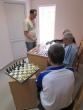 Surengtas šaškių ir šachmatų simultanas