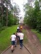 Nepilnamečių išvyka į Anykščius su resocializacijos projektu