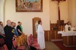Įstaigoje tradiciškai aukotos Šv. Mišios