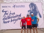 Danske Bank Vilniaus maratone tradiciškai bėgo ir įstaigos pareigūnai