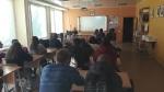 Susitikimas su Zarasų žemės ūkio mokykloje besimokančiais moksleiviais