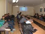 Mediatorių susitikimas su Panevėžio profesinio rengimo centre besimokančiais moksleiviais