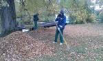 Nuteistieji dirbo Kauno botanikos sode