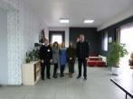 Pusiaukelės namuose lankėsi Finansinių mechanizmų valdybos atstovė Maria Knoph  Vigsnaes