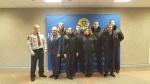 Įstaigos darbuotojai lankėsi Lietuvos policijos mokykloje