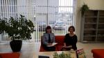 Susitikimas su Panevėžio teritorinės darbo biržos Biržų jaunimo darbo centro vyresniąja specialiste Lina Krauklyte