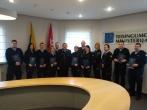 Lukiškių tardymo izoliatoriaus-kalėjimo pareigūnams iškilmingai įteikti mokslų baigimo pažymėjimai