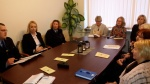 Apskritojo stalo diskusija dėl smurtaujančių asmenų Priekulės seniūnijoje bei mediacijos pristatymas