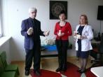 Laisvės atėmimo vietų ligoninės nuteistieji dovanoja medinius žaislus Kauno klinikose besigydantiems vaikams