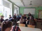Pareigūnai lankėsi Kairių pagrindinėje mokykloje
