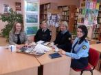 Susitikimas su Kretingos rajono savivaldybės M. Valančiaus viešosios bibliotekos Kūlupėnų filialo bibliotekininke