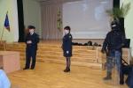 Pareigūnų apsilankymas Grigiškių gimnazijoje