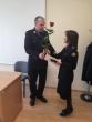 Panevėžio apygardos probacijos tarnybos Probacijos skyriaus vyresnioji inspektorė apdovanota už nepriekaištingą tarnybinių pareigų atlikimą bei ilgametę tarnybą bausmių vykdymo sistemoje