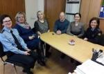Pasitarimas su Panevėžio apygardos prokuratūros Panevėžio apylinkės prokuratūros prokurorais