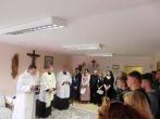 Socialinės integracijos į visuomenę poskyryje pašventinta koplyčia