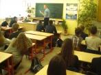 """Pristatyta pataisos pareigūno profesija Plungės ,,Saulės"""" gimnazijoje"""