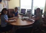 Susitikimas su Panevėžio rajono savivaldybės Vaiko teisių apsaugos skyriaus darbuotojais