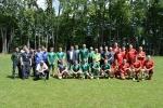 Įstaigos darbuotojai varžėsi futbolo turnyre