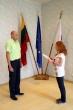 Lietuvos valstybei prisiekė tarnauti naujai priimta pareigūnė