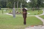 Nuteistųjų dovana visuomenei – atidarytas unikalus skulptūrų parkas