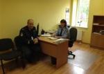Susitikimas su Panevėžio apskrities vyriausiojo policijos komisariato Biržų rajono policijos komisariato viršininku