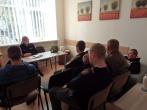 Susitikimas su Šiaulių AVPK Pakruojo r. PK PS vyriausiąja tyrėja Neringa Pocevičiene