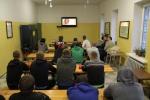 """Lukiškių tardymo izoliatoriuje-kalėjime nuteistiesiems organizuotos filmo """"Kalėdų giesmė"""" peržiūros"""