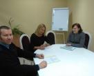 Susitikimas su Panevėžio teritorinės darbo biržos Kupiškio skyriaus darbuotojomis