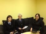 Susitikimas su Panevėžio teritorinės darbo biržos Biržų skyriaus darbuotojomis