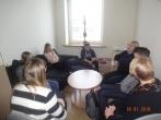 Susitikimas su Molėtų gimnazijos moksleiviais