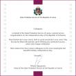 Latvijos valstybinės probacijos tarnybos vadovo sveikinimas Lietuvos valstybės atkūrimo dienos proga