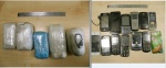 Marijampolėje sulaikyti draudžiamus daiktus į pataisos namų teritoriją permetę asmenys