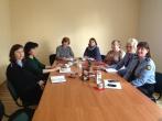 Susitikimas su Biržų rajono savivaldybės administracijos Biržų miesto seniūnijos socialinėmis darbuotojomis