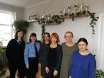 Susitikimas su Biržų rajono savivaldybės administracijos Pabiržės seniūnijos darbuotojomis
