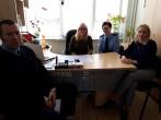 Susitikimas su Rokiškio rajono savivaldybės Vaiko teisių apsaugos skyriaus darbuotojomis