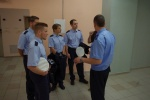 Vokietijos policijos akademijos studentų vizitas